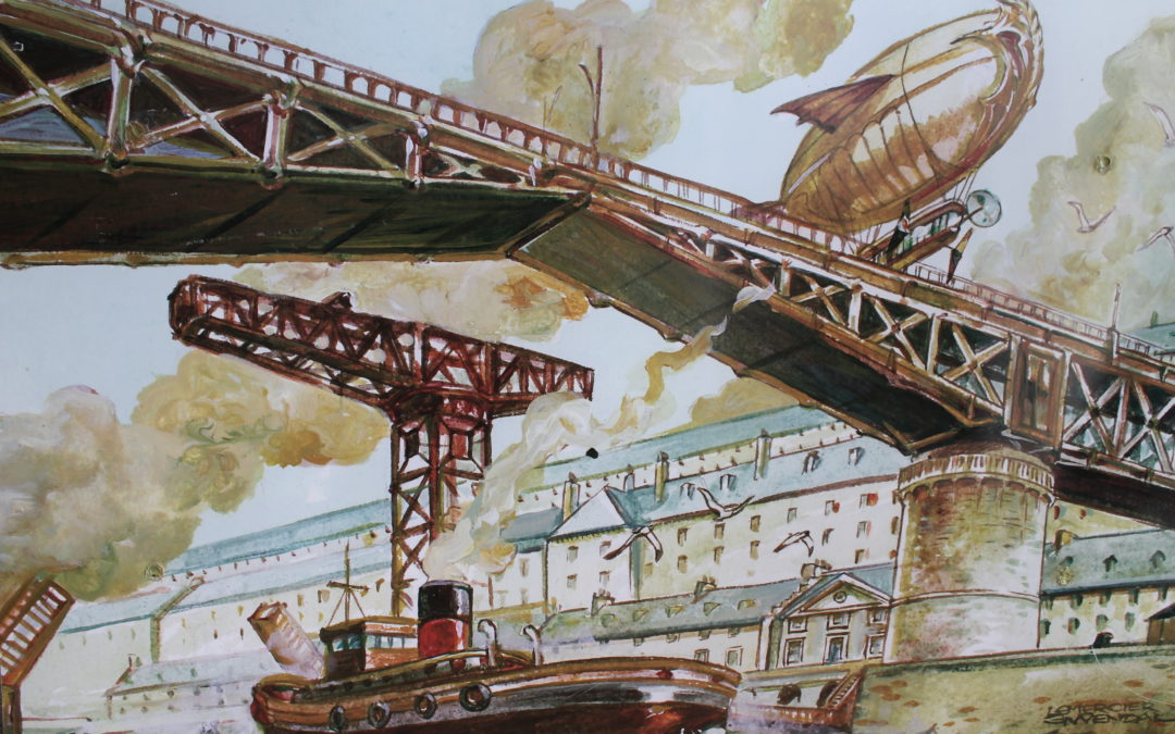 Le Brest de Gwendal Lemercier, retour vers le futur à Loperhet