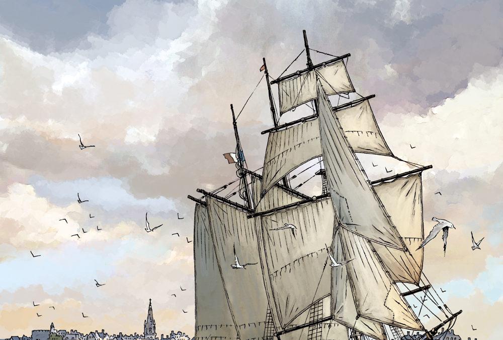 "Expo ""Entre terre et mer"" à Meneham"