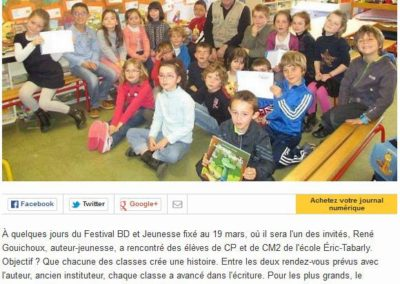 Ouest France – 11/03/2015