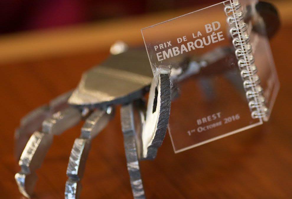 Cyril Bonin remporte le 1er Prix de la BD embarquée !
