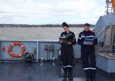 La Marine nationale, avec la sélection embarquée 2018