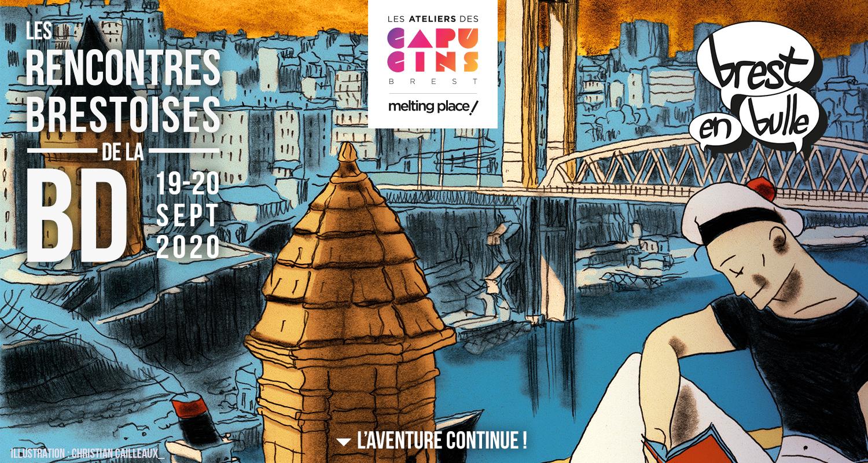 Les rencontres Brestoises de la BD 2019